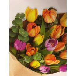 Tulips Handtied  in craft