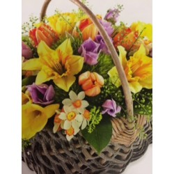 Spring Basket Arrangment