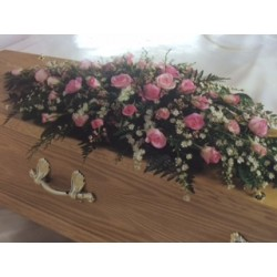 Coffin Top Funeral Tribute