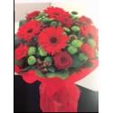 Aqua packed Bouquet